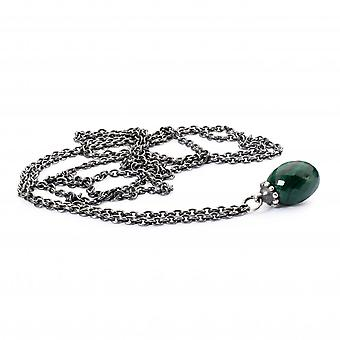 Trollbeads Fantasy Necklace With Malachite TAGFA-00034