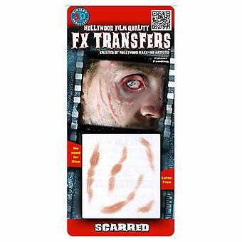 Tinsley Transferts 3D Fx Transferts Petits (Scarred)