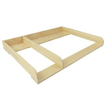 Envoltório puckdaddy pelle 108x80x10 cm madeira na natureza separando compartimento adequado para ikea hemnes baús de gavetas