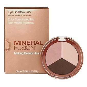 Mineral Fusion Eye Shadow Trio Rose Guld, 0,1 Oz