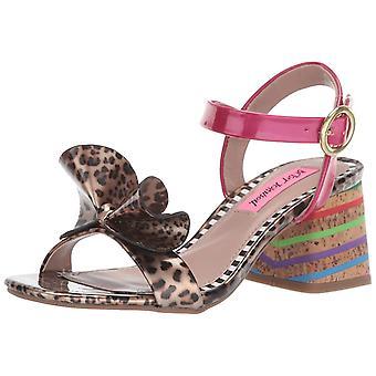 Betsey Johnson Women's Lanore Heeled Sandal