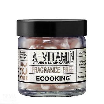 3 x Ecooking Vitamin A Serum Capsules x 60