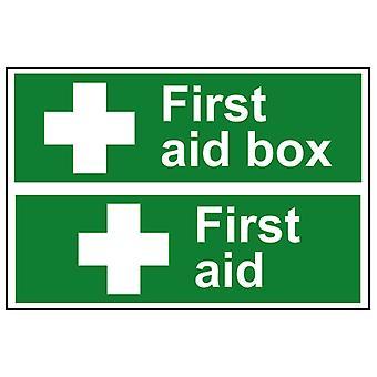 Scanare cutie de prim ajutor / prim ajutor - PVC 300 x 200mm SCA1553