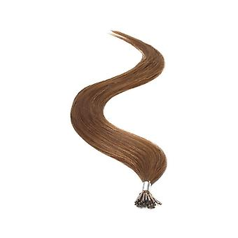 American Pride I-TIP Human Hair Extensions 18 Inch - Brown