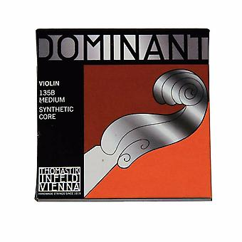 Thomastik Dominant- 135b Medium Violin Strings 4/4 Full Set- G/d/a/e Strings