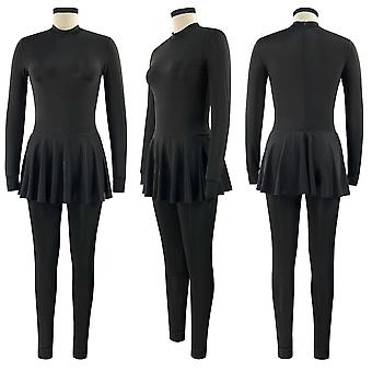 Black Swimming Suit For Burkini Muslim Fashion Swimwear Women Swimsuit Long