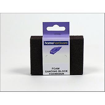 Home DIY (Paint Brushes) Foam Sanding Block Coarse/ Medium Small 010374