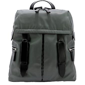 Orciani Nbe001ecolgrigio Men's Grey Polyester Backpack