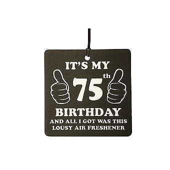75º aniversário péssimo carro ambientador