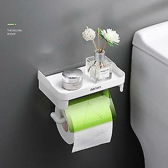 Wall Mount Toilet Paper Holder Bathroom