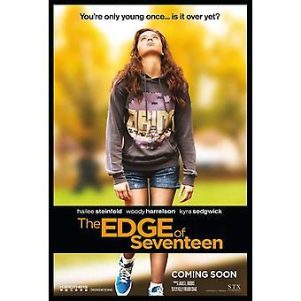 Na skraju plakat filmu Seventeen (11 x 17)