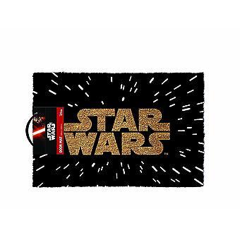 Star Wars Logo Wycieraczka, Wielokolorowy, 40x60cm Wytrzymały wykonany z grubej coir