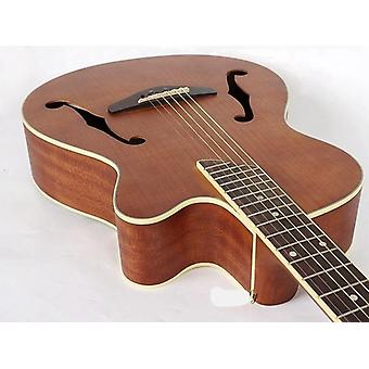 40inch Maple Top Jazz, Acoustic Electric Guitar