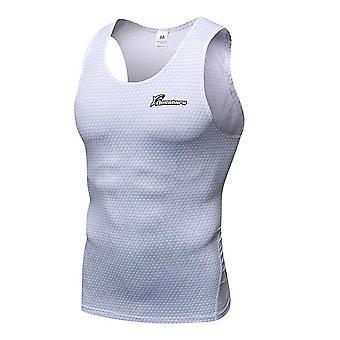Compression Running Vest Gym Fitness Sleeveless Training Tank Tops Summer Body