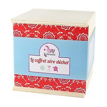 Red zero waste gift box 4 units