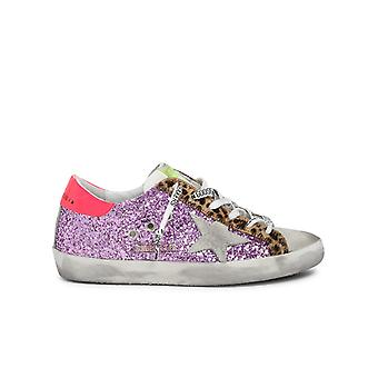 Golden Goose Gwf00101f00024780258 Women's Multicolor Leather Sneakers