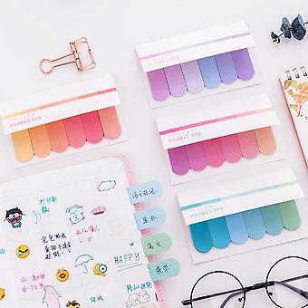 Multicolor Memo Pad Index Notes Handbook
