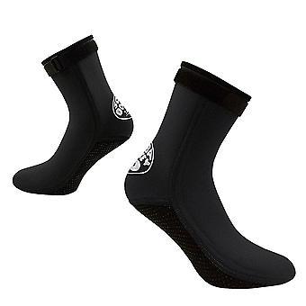Sand Socks Non-slip Anti-beach Socks Water Sports for Men Women Upgrade Black