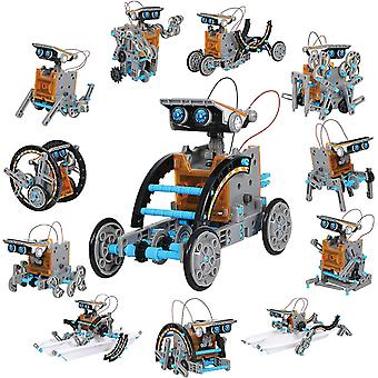 Discovery Solar Robot Kit With Working Solar Powered Motorized Engine And Gears