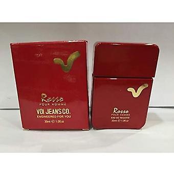 Voi Jeans Rosso Eau de Toilette Spray for Men 100 ml