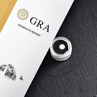 Loose Moissanite Gh Lab Diamond Diy Round Brilliant Cut Jewelry Bracelet