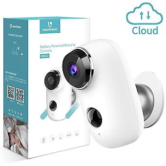 Heimvision wireless rechargeable battery security camera, 1080p cctv wifi home surveillance camera w