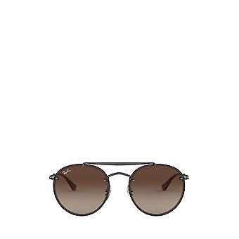 Ray-Ban RB3614N demi gloss gunmetal unisex sunglasses