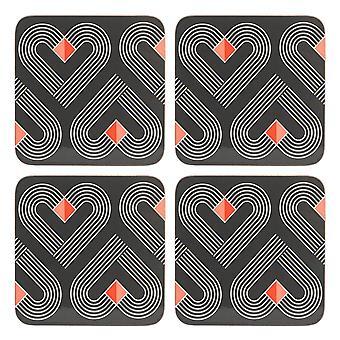 Beau & Elliot Vibe Coasters, Slate