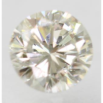 Sertifioitu 0,59 karat H VVS1 pyöreä loistava parannettu luonnollinen löysä timantti 5,22m