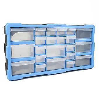 DIY Storage Organiser Unit with 22 Drawers