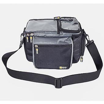 Eigo Handlebar Bag With Quick Release Bracket - Black/Grey