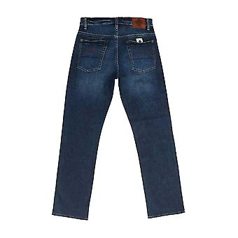 Pretty Green Erwood Slim Fit Jeans - 6 Month Wash