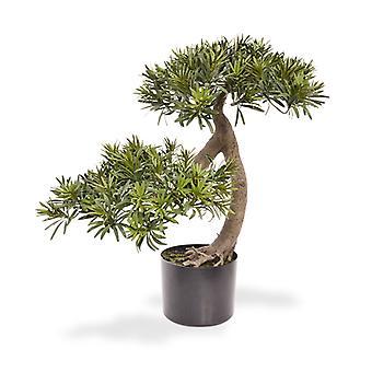 Künstlicher Podocarpus Bonsai Baum 55 cm