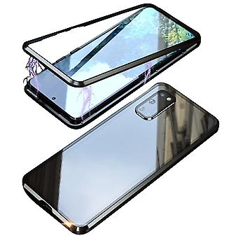 Glass cover compatible with Samsung Galaxy S20 | Magnetic fall |