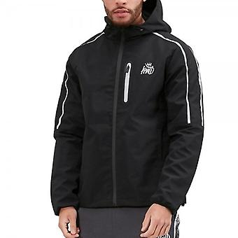 Kings Will Dream Carnaby Black Zip Up Hooded Windcheater