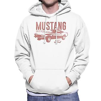 Ford Mustang King Of The Road Men's Hooded Sweatshirt
