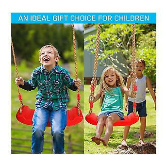 Swing Set Children Swing Plastic Swings With Adjustable Rope Safe Durable Child