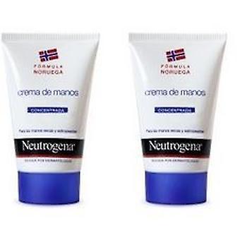 Neutrogena Crèmes Mains Concentrée 2 x 50 Ml