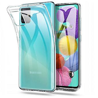 Samsung M31S Hoesje Transparant Wit - CoolSkin3T