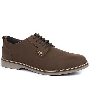 Barbour Mens Raby Leather Derby Shoes
