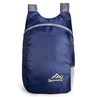 Durable Nylon Folding Backpack, Unisex Lightweight, Outdoor Travel, Hiking,