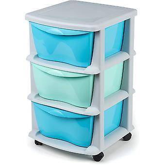 Schubladen aus Kunststoff schubladenschrank mit Rollen Rdern Schwerlast Aufbewahrungsbox Kunststoff