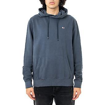 Sweat-shirt homme tommy jeans tjm lavé basket-ball hoodie dm0dm10656.c87