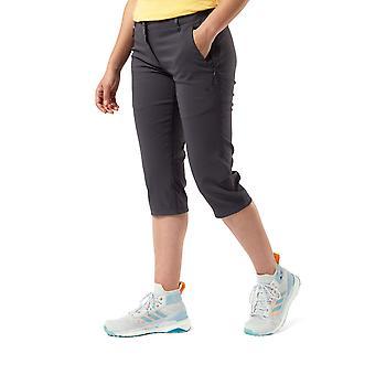 Craghoppers Womens Kiwi Pro Crop Smartdry Walking Trousers