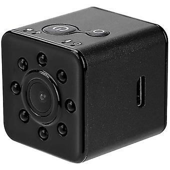 Mini WiFi Action Camera, 1080P HD 155 ° Wide Lens Waterproof Sports Camcorder Night Vision Infrared Camcorder for Aerial Photography-Black