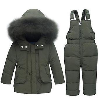 Vauvan talvivaatteet, Vauvan turkis Lumipuku Huppari Takki, Ankka alas, Taapero