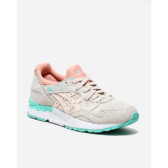 Asics women's gel lyte v trainers grey mint 8718833608059
