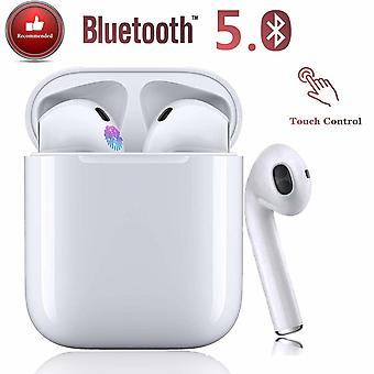 Bluetooth 5.0 Noise Canceling Wireless Bluetooth Headphones 3D Stereo IPX7 Waterproof Auto Pairing Waterproof Fast Charging for Apple / AirPods / AirPods Pro / Android / iPhone Sports Headphones