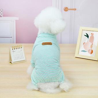 Gestreiftes Muster kleine Hunde-Haustier Kleidung