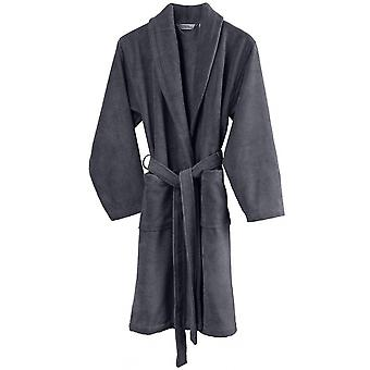 bathrobe Felicia cotton dark grey size XL